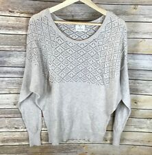 Urban Outfitters - Pins & Needles Tan Dolman Sleeve Knit Pullover Sweater -Small
