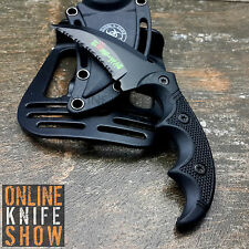 MTECH TACTICAL COMBAT KARAMBIT KNIFE Survival Hunting BOWIE Fixed Blade SHEATH