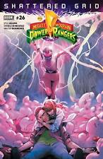 MIGHTY MORPHIN POWER RANGERS #26 MAIN SHATTERED GRID TIE IN (1ST PRINT)