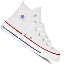 Scarpe bianchi per bambini dai 2 ai 16 anni tela , Numero 29