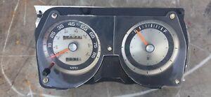 82-89 Chrysler Fifth Avenue Speedometer / Gas Fuel Gauge Instrument Gauge Pod