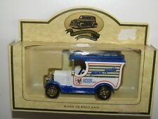 LLEDO Bull Nose Morris Model Van - Manx Radio collectors truck promotional /L57