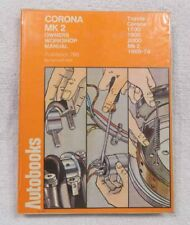 AutoBooks 1969 -1974 Toyota Corona MK2 Owner's Workshop Manual   NICE  FREE SHIP