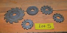 5 Carbide Horizontal Face Mill Cutter Under Fly Milling Lathe Tool Machinist Lot