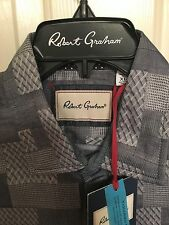 NWT Mens Robert Graham Long Sleeve Sutherland Fall Shirt Size XL
