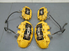 2012 12 13 14 Cadillac CTS V CTS-V Yellow Brembo Brake Caliper Set #6974