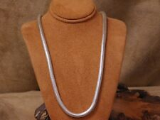 Sterling Silver Snake Chain 19""