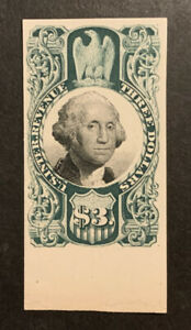 TDStamps: US Revenue Scott#R147P4 Unused NH NG Lightly Crease Bottom, Proof