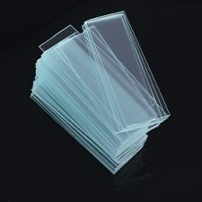 Hot Sale 50PCS Blank Microscope Slides with 100 Square Cover Glass  AU