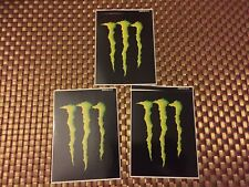 "Monster Energy RACING DECALS STICKER 3.25x4.25 INCH ""FREE SHIPPING"" offroad"