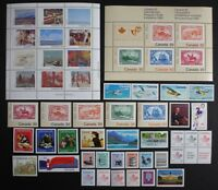 CANADA Postage Stamps, 1982 Complete Year set collection, Mint NH, See scans