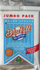 1991 Upper Deck Baseball Jumbo Box Find The Nolan 1 Pack Sealed