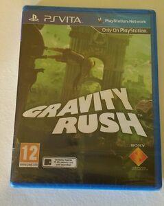 GRAVITY RUSH PSV New Sealed UK PAL Game Sony PlayStation Vita PS Vita RARE kat