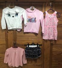 girls clothes 4-5 years bundle👕👗 Trolls Top,H&M Top,Playsuit Shorts,skirt VGC