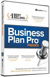 Palo Alto Software Business Plan Pro Premier