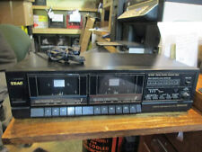 TEAC Model W-31C Stereo Double Cassette Deck