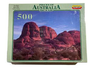 Vtg 1995 Pieces of Australia 500 piece puzzle The Olgas Kata Tjuta NT SEALED