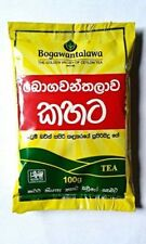 Pure Ceylon Black Tea 100g Bogawantalawa Kahata Sri Lanka Tea Plantation Product