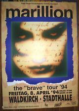 Konzert Plakat MARILLION THE BRAVE Tour 1994 Poster ca. 86x56