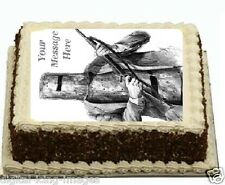 Ned Kelly Cake topper edible image icing  REAL FONDANT