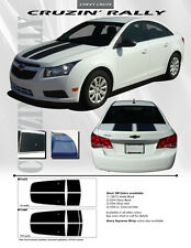 For: CHEVY CRUZE WITH SPOILER 1680 Graphics Kit Decals Emblems Stripes 2011-2015
