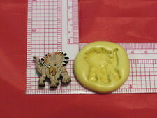 Dinosaur Triceratops Silicone Push Mold A43 Chocolate Resin Clay Craft Topper