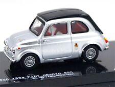 Fiat Abarth 695 grise - vitesse 24510 1/43e