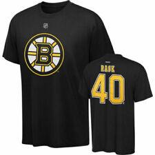 NHL T-Shirt Boston Bruins Tuukka Rask 40 schwarz  Player Name Number Eishockey
