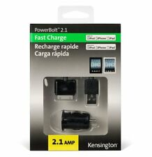 Kensington K39224EU Powerbolt Micro Car Charger for iPod/iPhone/iPad