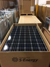 (2PCS) S-ENERGY 300W MONO BLACK FRAME SOLAR PANELS