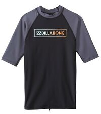 Billabong All Day Raglan SS Rashguard Top (XXL) Black