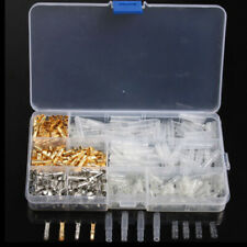 400Pcs Motorcycle Wiring Harness Bullet Connectors Male&Female Brass Tin 3.9mm(Fits: 1986 KX250)