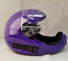 ~NEW~ PHANTOM XV ~ Full Face Skydiving Helmet from SQ1~ MEDIUM PURPLE