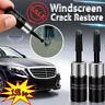 2*Automotive Glass Nano Repair Fluid Car Windscreen Windshield Chip Crack Tool