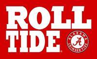 Alabama Crimson Tide Roll Tide 3x5 Feet Banner Flag University NCAA