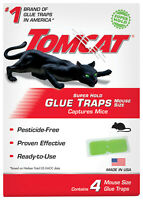 Tomcat Super Hold Glue Traps Mouse Size