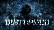 Disturbed Music Poster 19'' X 11''