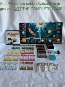 U-PICK 2015 Monopoly Ultimate Banking replacement Parts Pieces - U CHOOSE A PART
