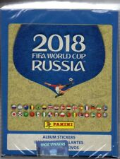 2018 Panini Russia FIFA World Cup Soccer Stickers Factory Sealed Box 50 Packs