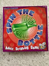 adult drinking board game SPIN THE BOTTLE BAR GAME