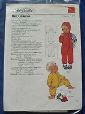 Silver Needles 'Baby Crawler' Sewing Pattern no 25 [BBCT]