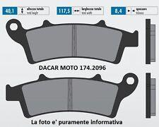 174.2096 PLAQUETTE DE FREIN SINTERED POLINI MALAGUTI MADISON 400 K