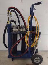 Hydraulic Oil Filtration Cart