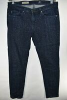 Adriano Goldschmied AG The Stevie Ankle Slim Straight Size 27R Womens Meas 29x28