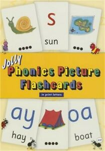 Jolly Phonics Picture Flashcards (in Print Letters) (Paperback or Softback)