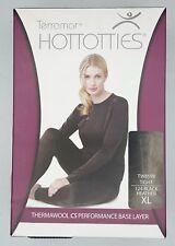 Terramar Thermawool CS Base Layer S Black Heather Wool Bottom Legging $60 NWT