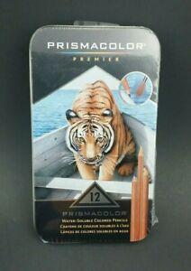 Prismacolor Watercolor Pencils Assorted Colors 12 pack Art Craft Studio Class