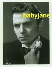 JAMES MASON VINTAGE 8X10 PHOTO 1945 HANDSOME PORTRAIT THE SEVENTH VEIL