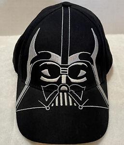 Star Wars Disney Darth Vader Black Baseball Hat Cap Snapback Youth One Size