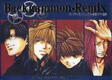 Saiyuki Backgammon Remix, by Kazuya Minekura, Color Anime Artbook Manga